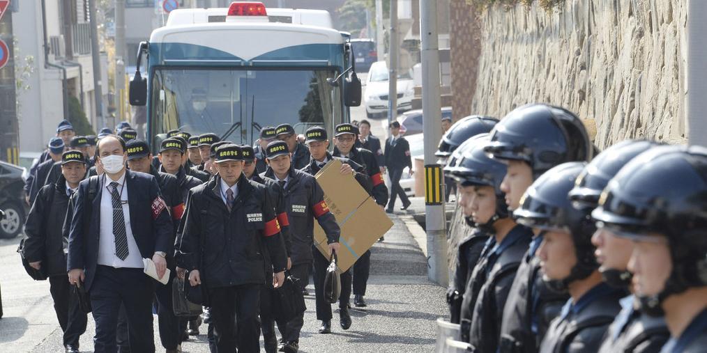 """日本最大黑帮""""山口组""""遭大规模突击搜查"""