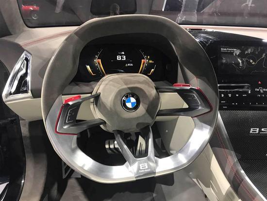 S级Coupe的劲敌 宝马全新8系概念车首发