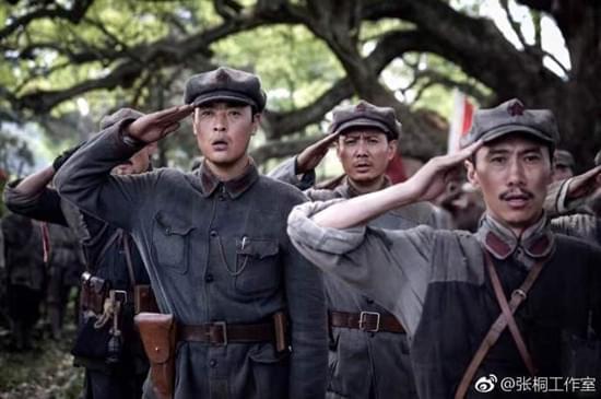 张桐红军剧照曝光 向祖国母亲致敬