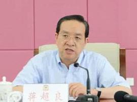蒋超良当选湖北省委书记 曾任农业银行董事长