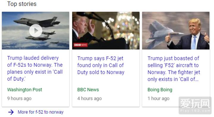 爱玩看世界:美国总统将COD的F52战机卖给挪威