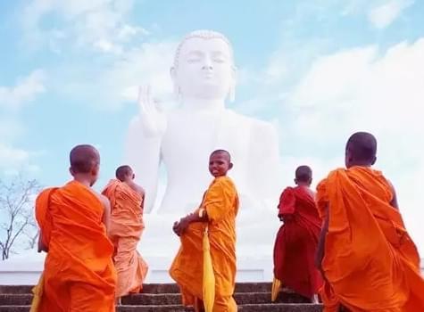 唯美佛国斯里兰卡:佛祖在印度洋流下