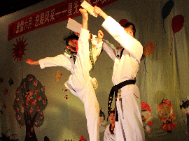 长治市跆拳道运动协会成立