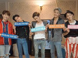 经历金钟铉离开 SHINee团员Key晒合照问候粉丝