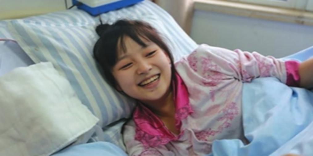 """邯郸:爱心助""""轮椅女孩""""成功手术"""