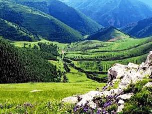 山林峡谷溪泉遗址:广灵白羊峪