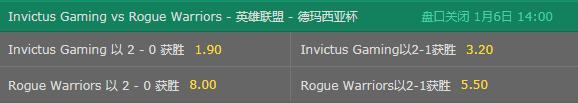 LOL德玛西亚杯-完全体IG要2-0横扫银河战舰?