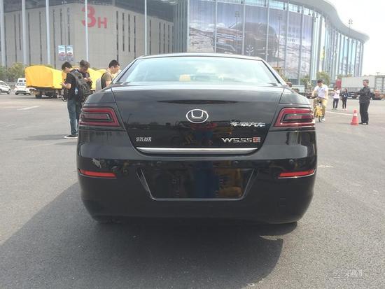 2017上海车展探馆:华泰新款路盛E80曝光