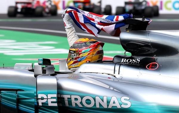 F1墨西哥站小汉第9完赛 第4次加冕年度冠军