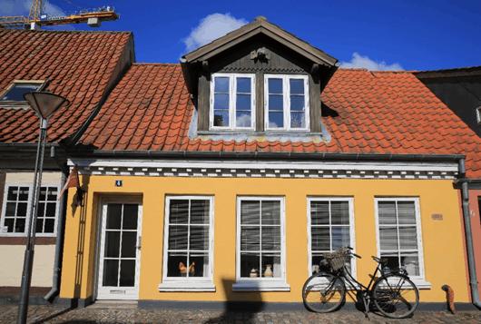 丹麦欧登塞小镇