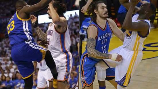 【影片】罰單滿天飛!Adams下體又遭痛擊 爵士悍將因此被罰款1.5萬-籃球圈