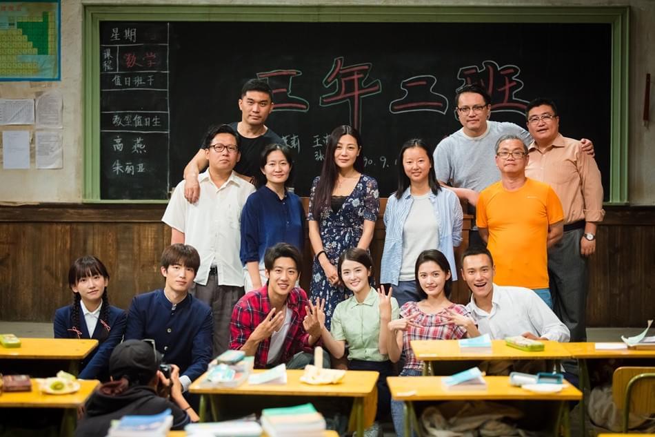 《三年二班》在京开放探班 王美人示范喝豆汁儿