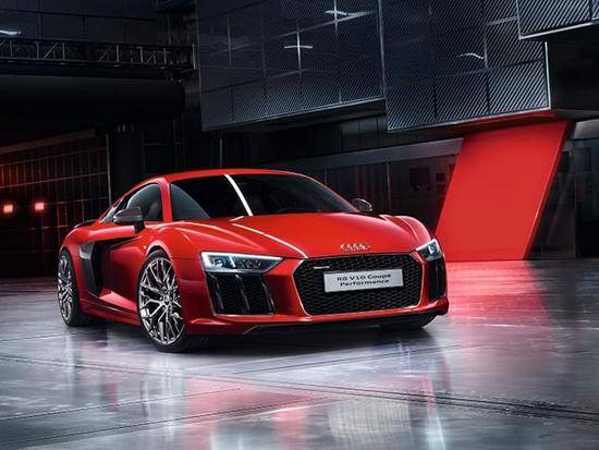 R8 V10 Coupe Performance