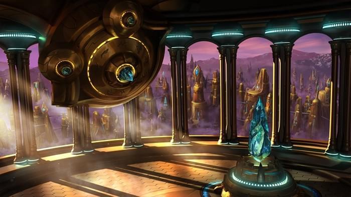 《星际争霸》重制版神族任务简报室绘图放出