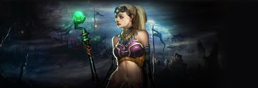 暗黑3趣味视频:女巫艾莲娜的3层大秘境之旅