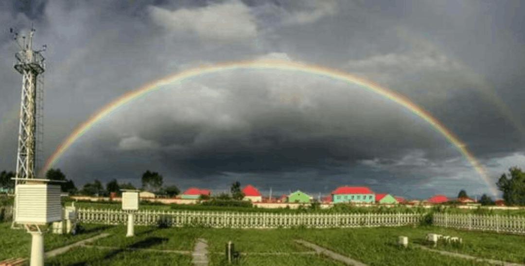 今后彩虹也可能有预报啦!