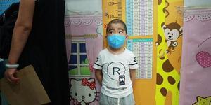 4岁男童患病节食500天