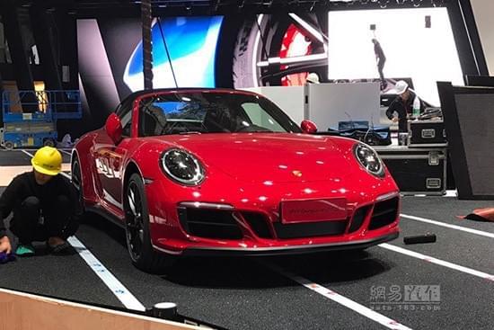 2017上海车展:新款保时捷911 Targa 4 GTS