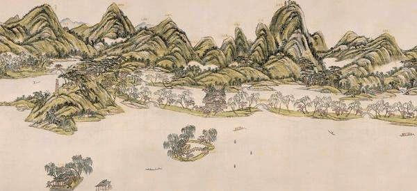 王原祁:西湖十景图的误区