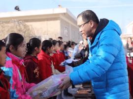 青蛙王子再次携手中国香化协会开启爱心书包公益之行