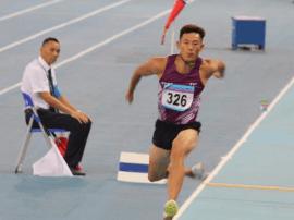 石家庄选手曹硕摘得全运会男子三级跳远铜牌