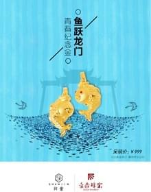 青春纪念金—鱼跃龙门
