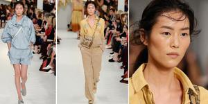 刘雯为米兰时装周走秀 气场全开走路带风