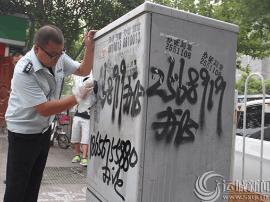 运城市城管监察支队掀起百日环境综合大整治