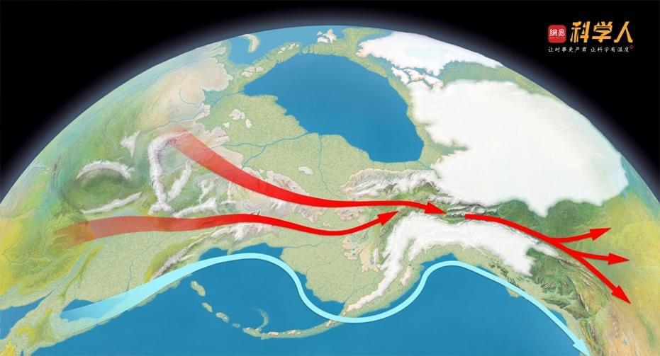 首批美洲居民 曾在白令海峡大陆桥上滞留上万年