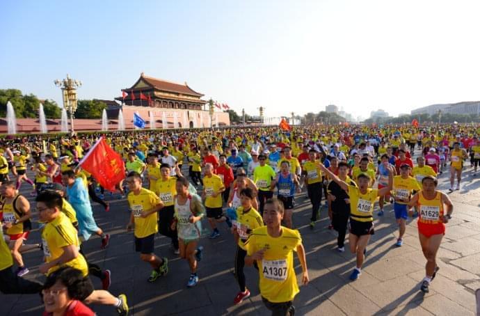 北京马拉松报名截止 98687人报名创纪录