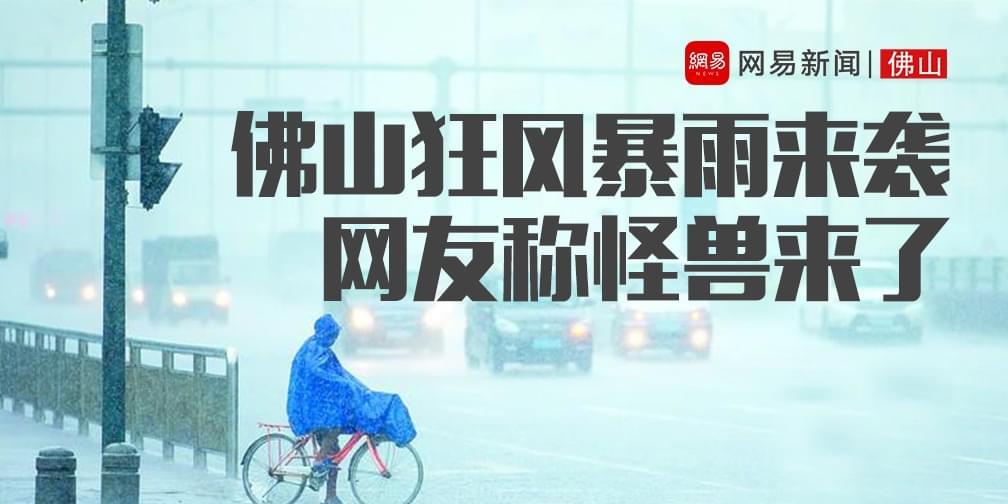 极端天气袭击佛山 网友:里水惊现冰雹