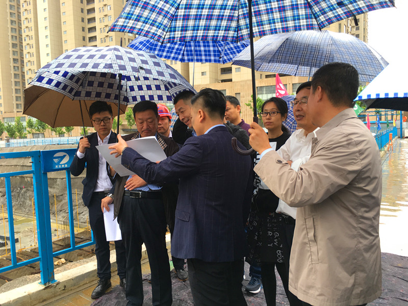 东港区人大常委会领导莅临沪港中心调研考察