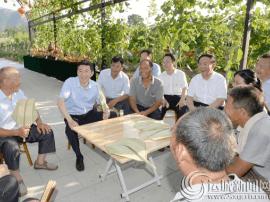山西省委书记、省人大常委会主任骆惠宁在运城调研