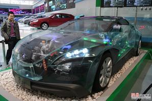 那些年亮相车展的新能源车