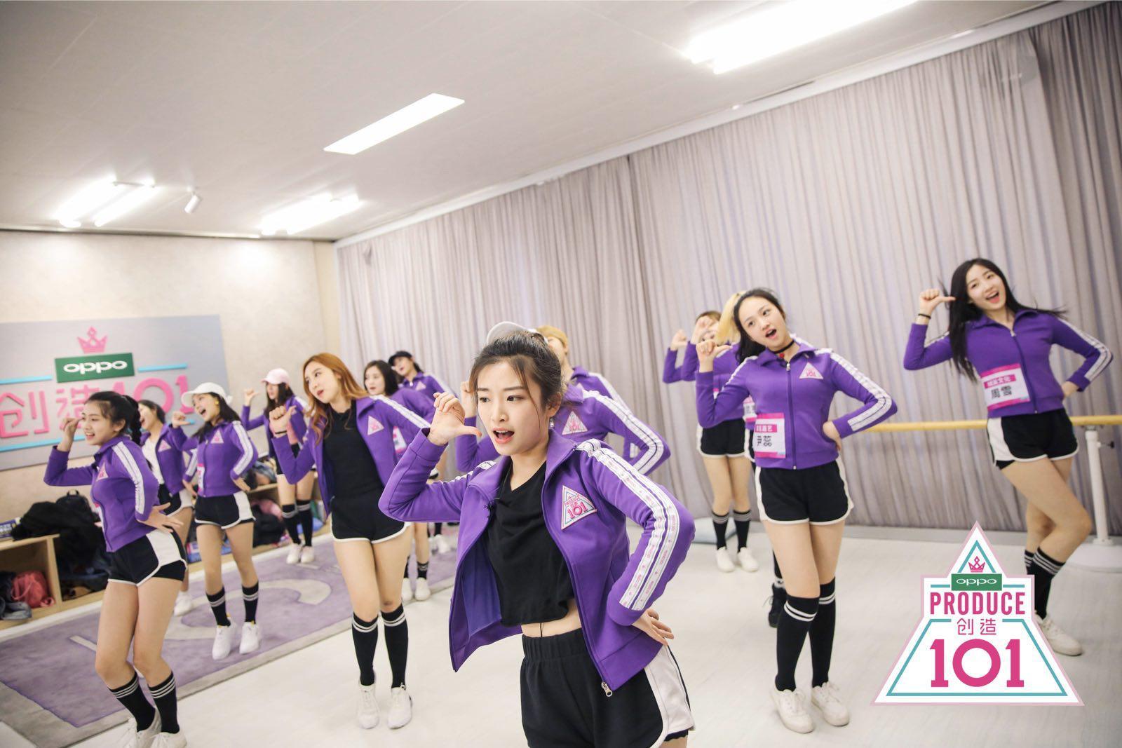 《创造101》黄子韬公布选手点赞排名 女孩泪洒舞台