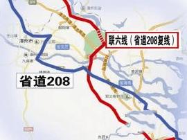 北环外添一环 国省干线联六线龙文段明年完工