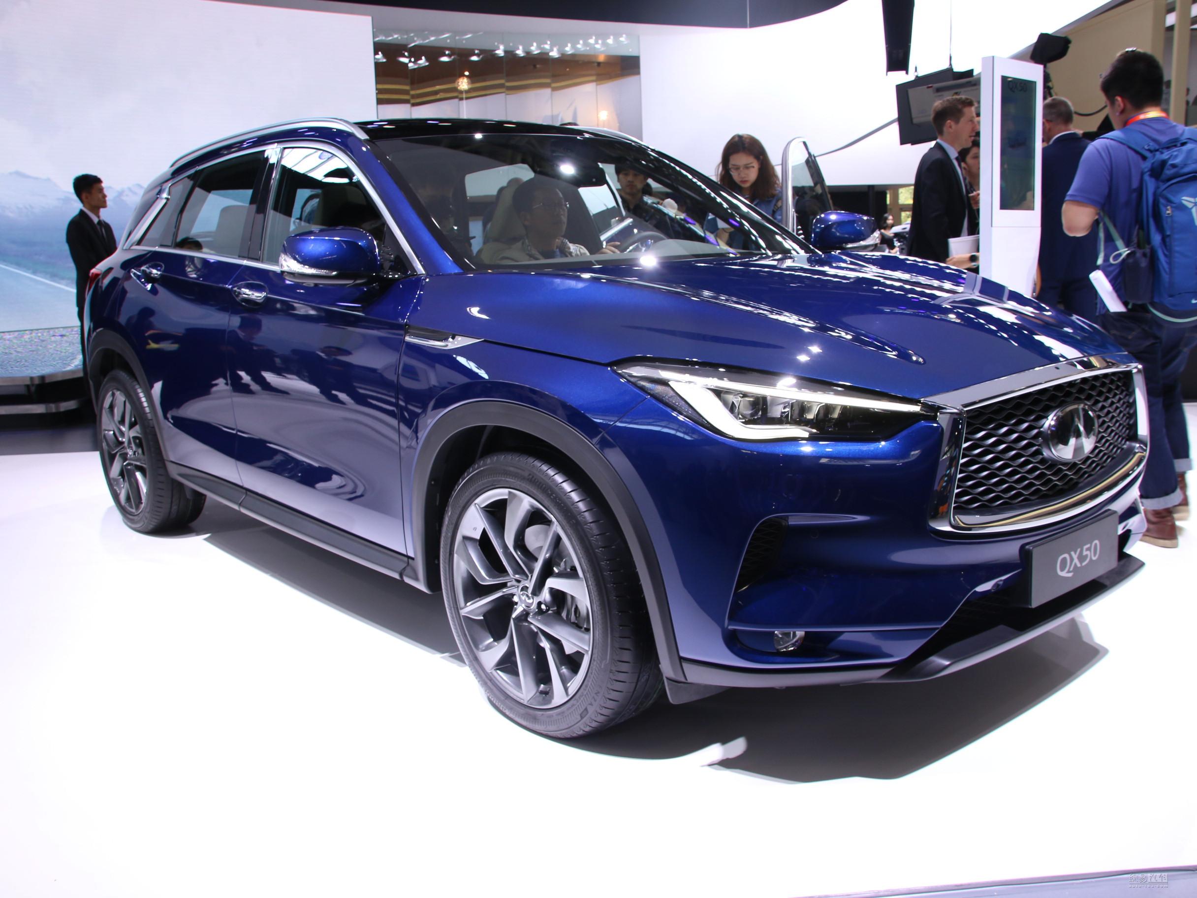 将推6款车型 国产全新QX50预售35万-51万