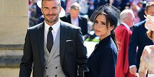 小贝夫妇出席哈里王子婚礼