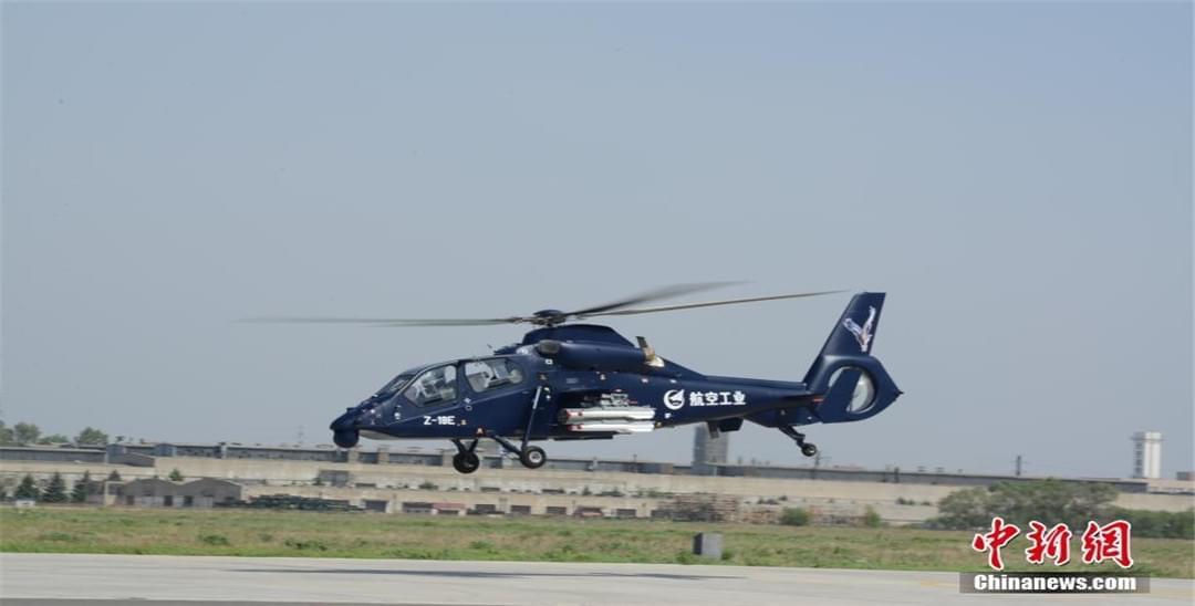 中国直19E出口型武装直升机首飞成功