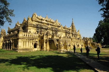 五小时直达曼德勒探索缅甸旧朝古都