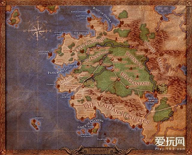 永恒之柱地图