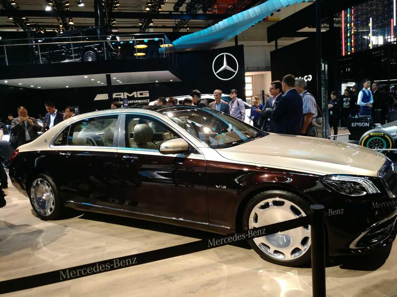 外观更显大气 新款迈巴赫S级正式亮相
