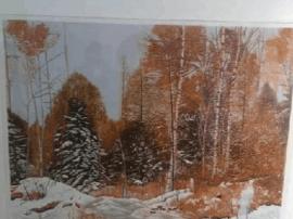 40余幅黑龙江版画精品画作在太原美术馆展出