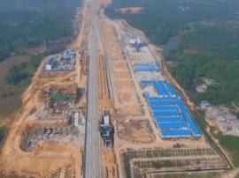 关注深茂铁路:阳西站工程量已完成三成