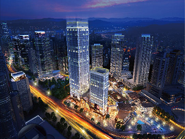 新壹街地标写字楼,定位企业价值高度