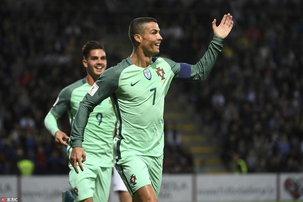 世预赛:拉脱维亚0-3葡萄牙