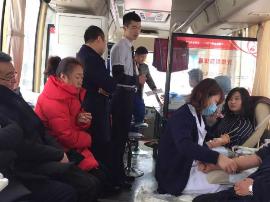 长治市中心血站:雪中献血暖人心