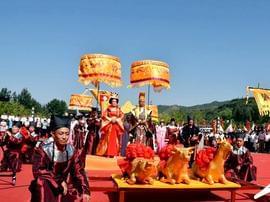 视觉临汾:霍州文化旅游月启幕 唐王祭实景