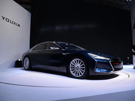 续航500公里 游侠量产车YOUXIA X1明年亮相