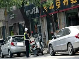禁止停车的地方  人不下车算违章吗